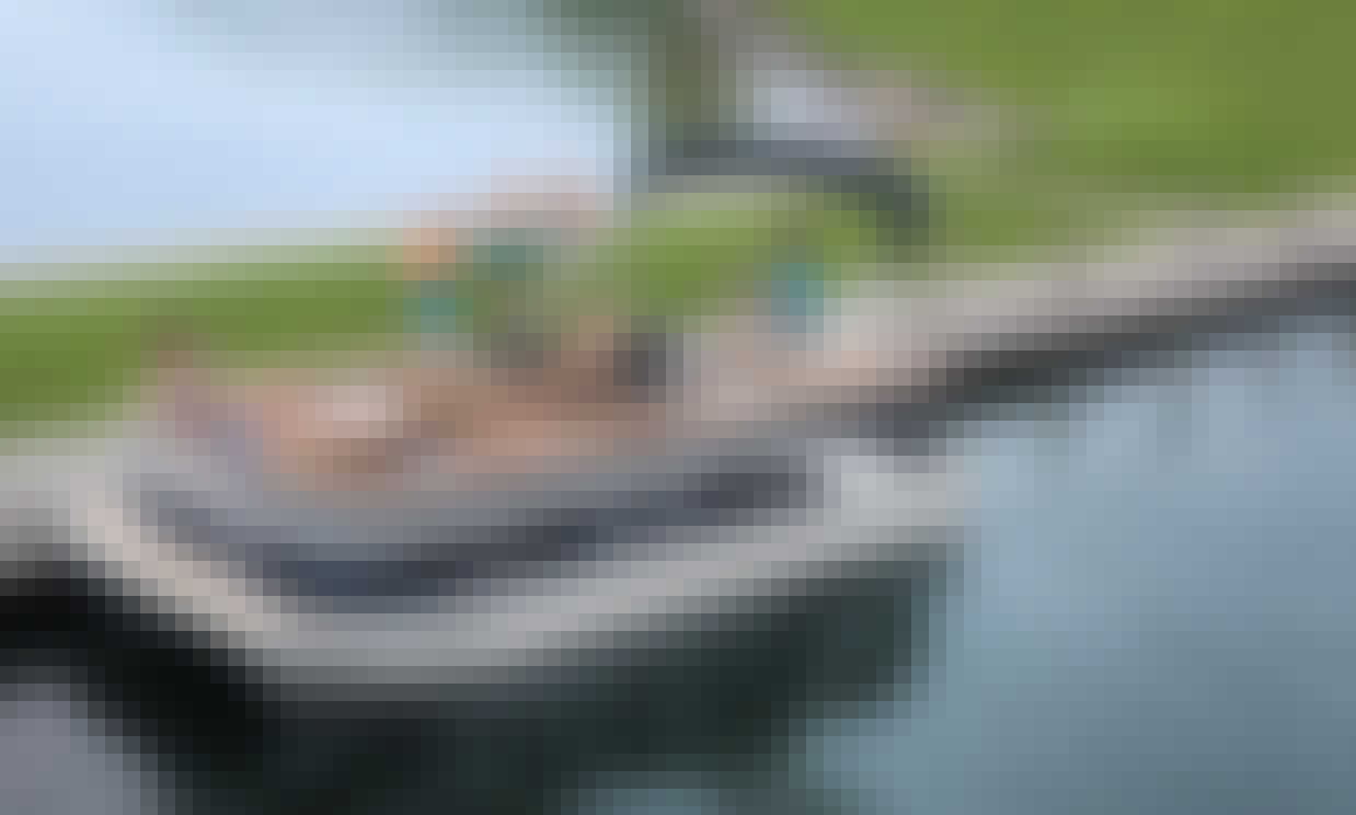Explore and Enjoy Glen Lake with S20 Bennington Pontoon Boat