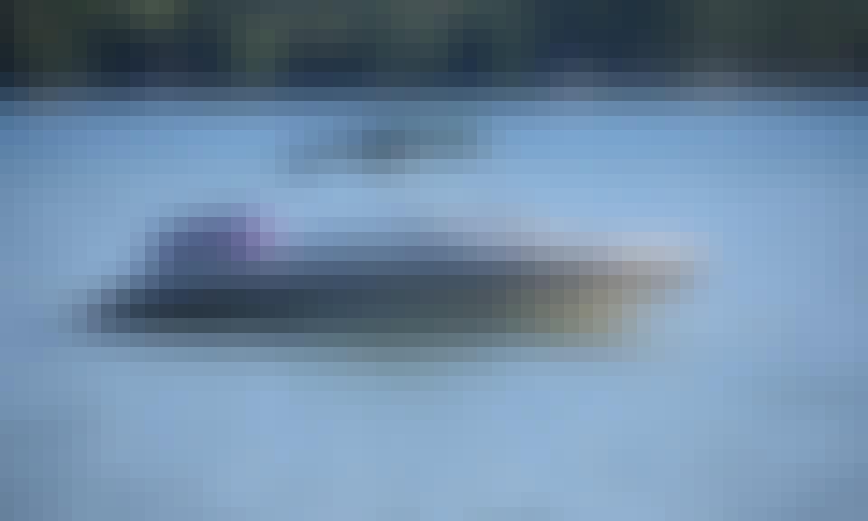 Experience the Fast Glastron Bowrider in Glen Lake, Michigan