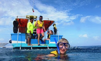 Cozumel Snorkeling by Glass Bottom Boat (Starting at Cozumel)
