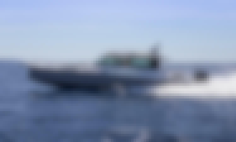 Captained Charter 37' Axopar Sport Yacht in Newport, Rhode Island