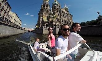 "Rent Boat ""Tolsty"" for 2-4 People in Saint Petersburg, Russia"