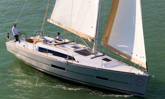 "Reserve the ""Gala"" Dufour 382 Grand Large Cruising Monohull in Sea Cows Bay, Tortola"