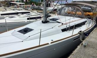 "38ft ""Noel"" Jeanneau S.o. 389 Cruising Monohull Charter in Sea Cows Bay, Tortola"