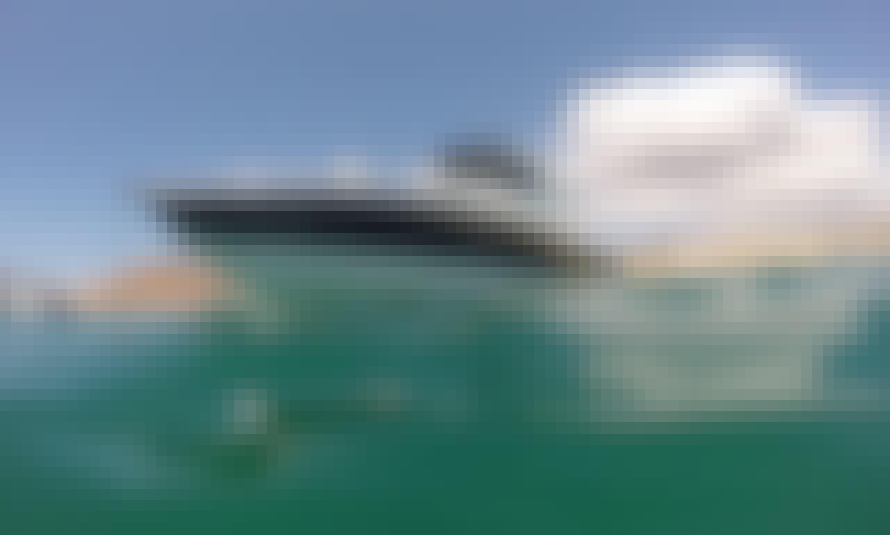Fast and Fun Formula Express Crusier in Baja California Sur- Tubing, Snorkeling, Diving and Cruising