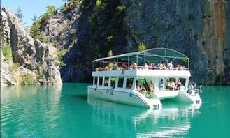 Catamaran Tour on Green Canyon in  Alanya side Antalya