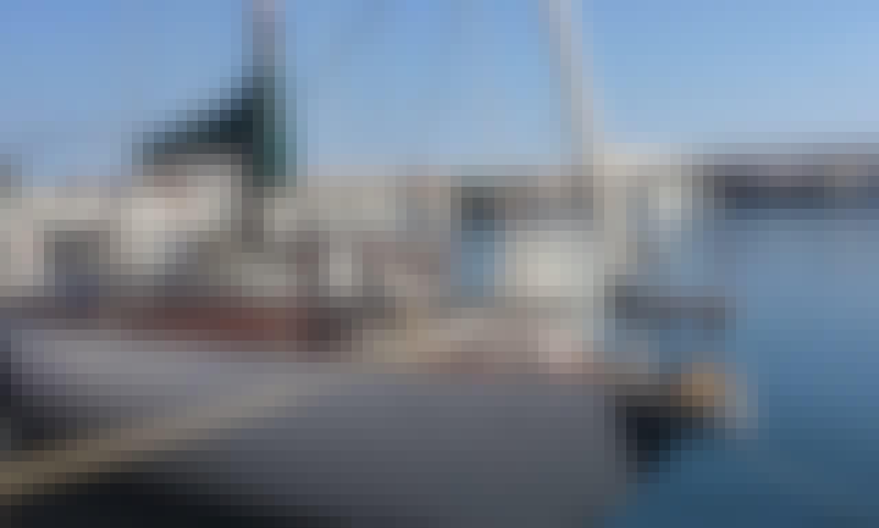 """Charter the 38ft """"Nova"""" Noray Cruising Monohull in Santa Eulalia, Ibiza"""