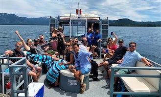 Charter the Party Boat in Lake Tahoe for up to 35 Guests