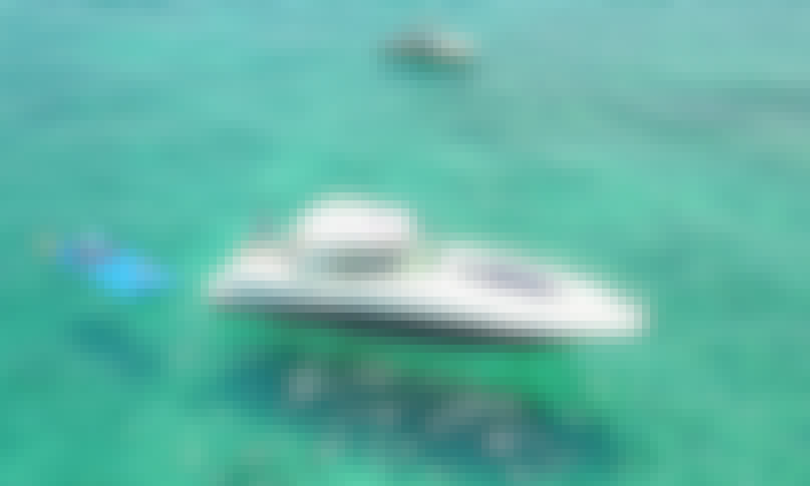 45 feet Mega Yacht Sea Ray Sundancer $ 1,300 for 4hrs - water toys: water carpet, Paddle board , floating noodles, snorkeling goggles