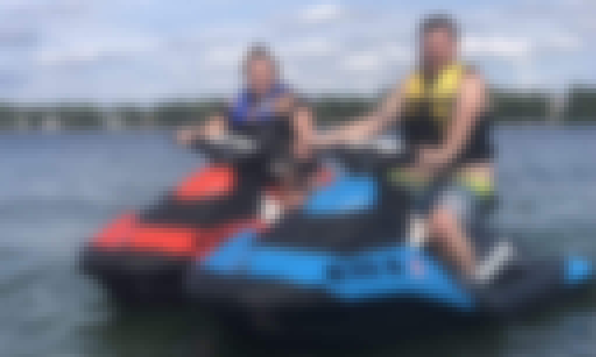 Sea Doo Spark Jet Ski Rental in Traverse City, Michigan
