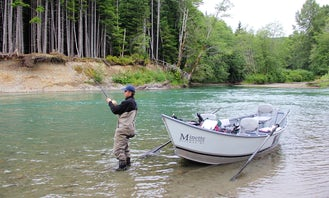Guided Driftboat Tours on Kitimat River in British Columbia!