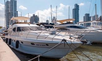 Viking 70 Power Mega Yacht Rental in Cartagena, Bolívar