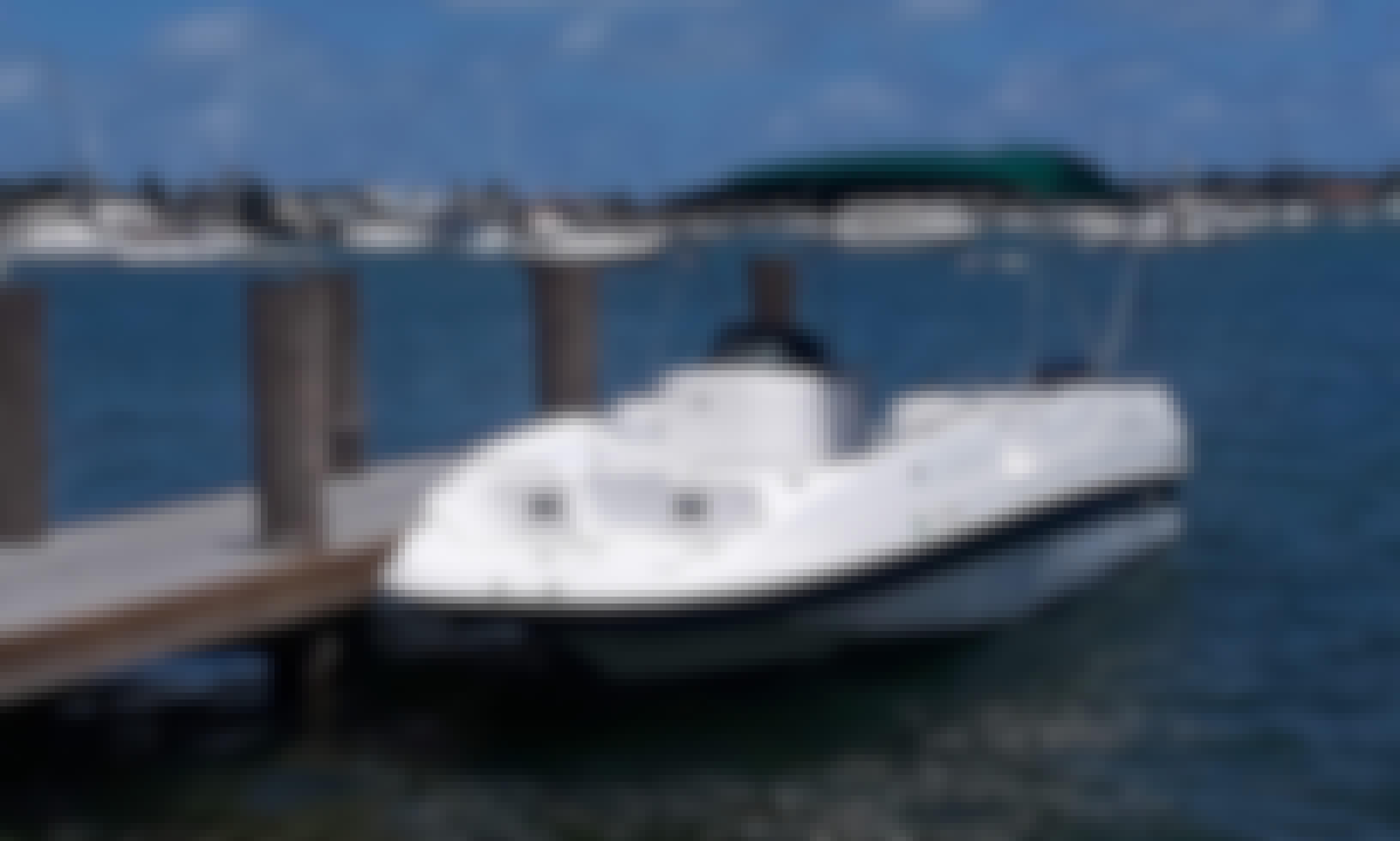 Fun in the Beach with 26' Cobia Deckboat