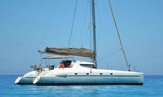 46' Okeanos Cruising Catamaran Charter in Ornos, Mykonos, Greece
