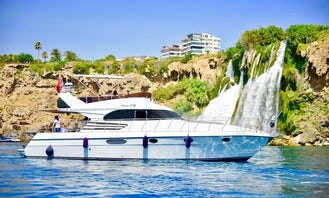 Private Tour Around The Turkish Riviera onboard 12 People Motor Yacht in Kemer, Antalya