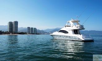 44ft Luxury Yacht in Puerto Vallarta, 12 guests, amenities, fun & Relax