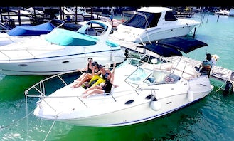 28' Sea Ray Sundacer motor yacht! Book 5 hours and get one hour free great deal in Cancún