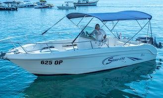 Saver 690 Powerboat for 8 People in Opatija, Primorsko-goranska županija