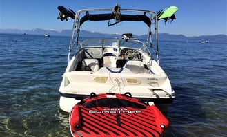 Rent 20 ft Bayliner Bowrider for Wakeboarding, Tubing or Skiing  for Up to 10 North Lake Tahoe, California