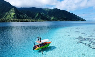 Amazing Private Boat Tour with Professional Guides in Teahupoo, French Polynesia