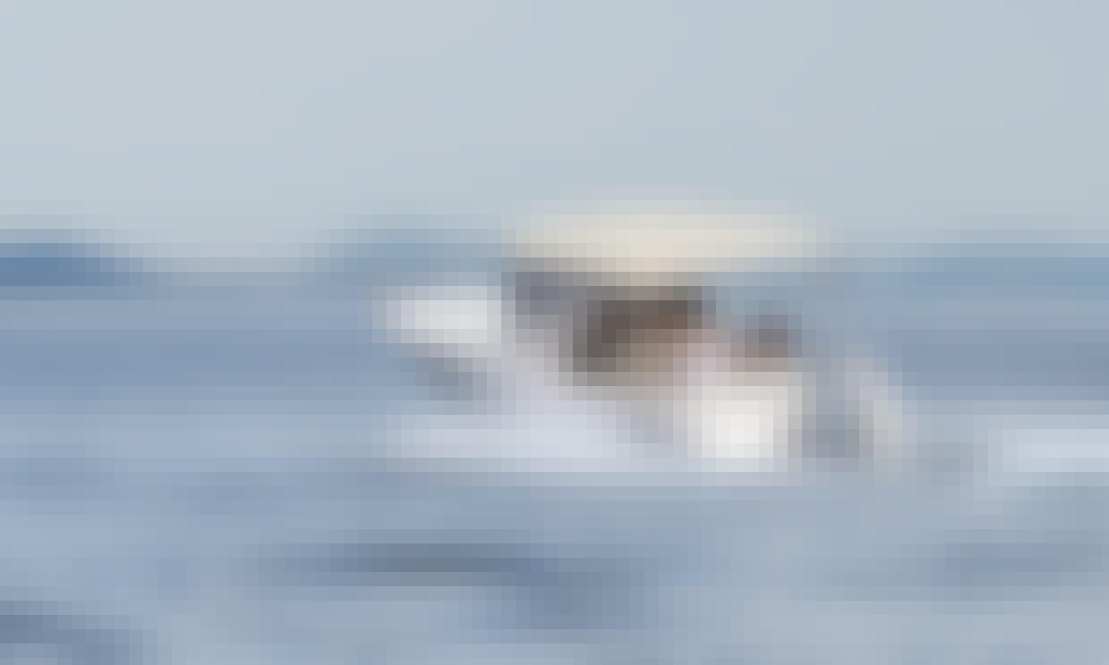 Elan Fishingline 650 Cabin Boat Rental in Obala kneza Trpimira, Zadar
