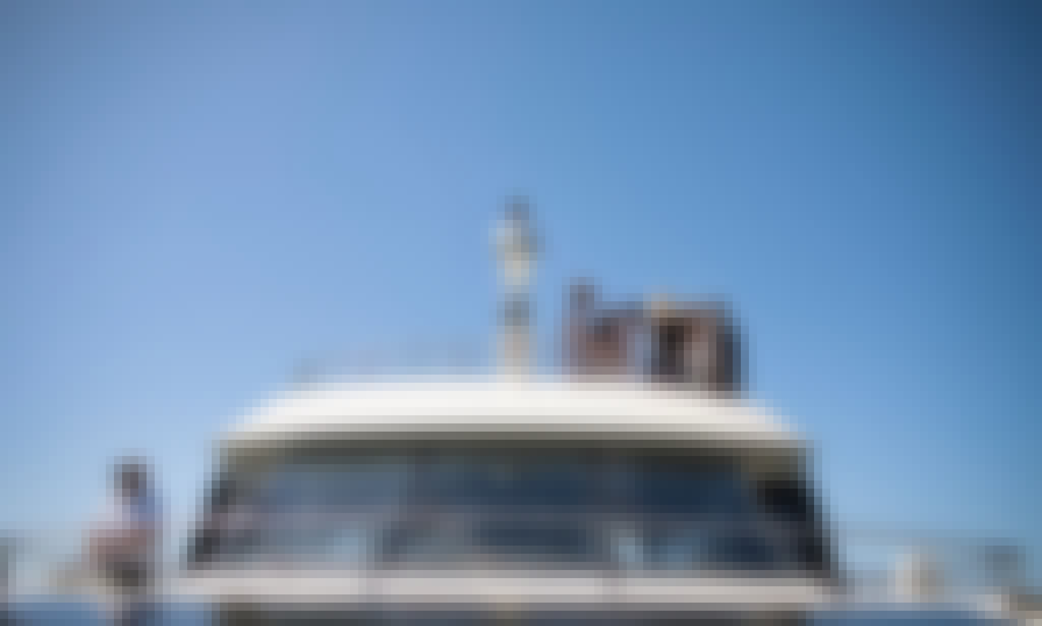 75' Peppermint Bay II Power Luxury Catamaran Private Hire in