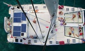 Cruising Catamaran 56' SANBLASCAT,  Panama City, Republik of PanamaLAS PERLAS, TABOGA DAY TRIPS