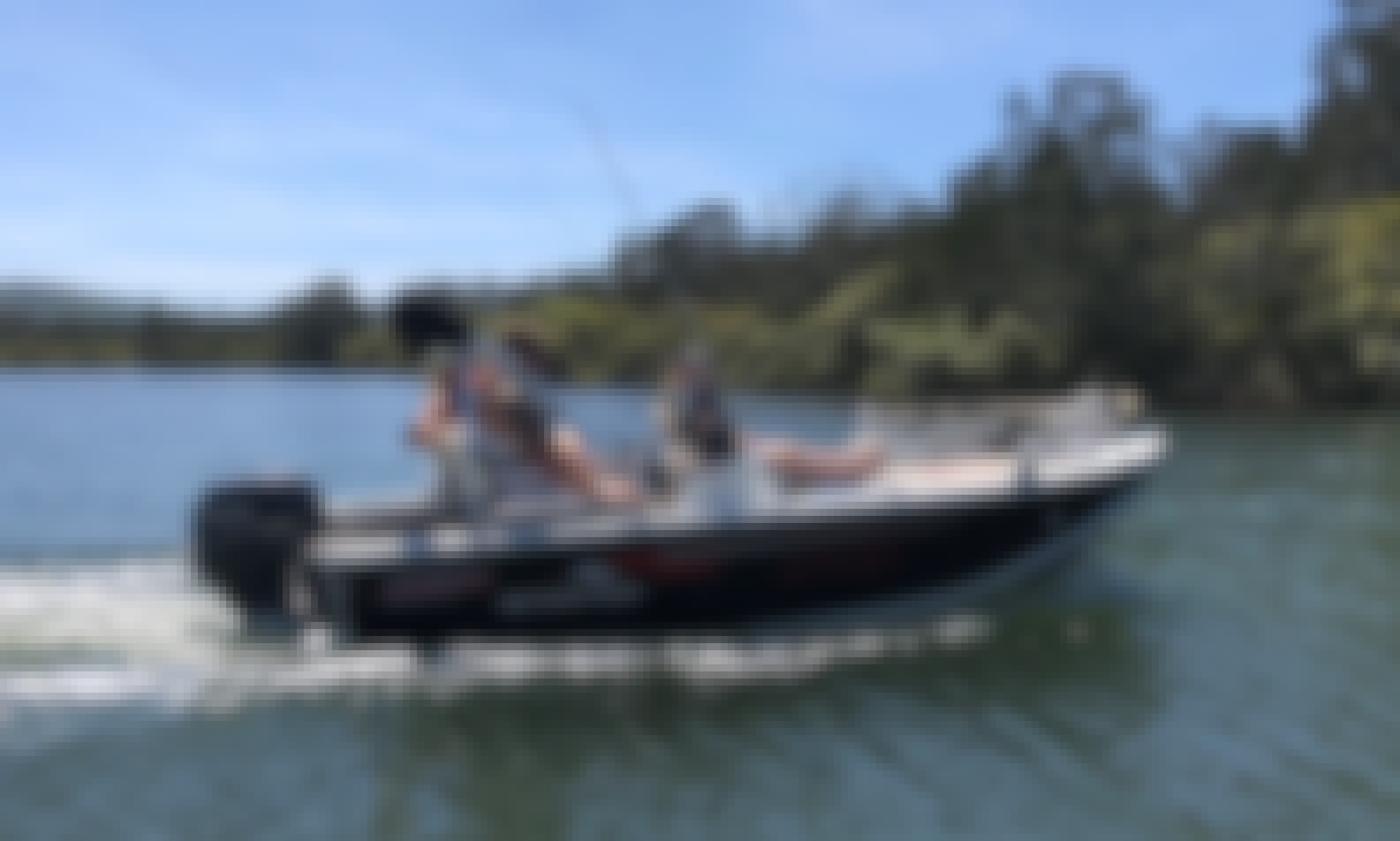 15 ft Stacer Proline Bass Boat for Hire in Forster Lakes, Australia