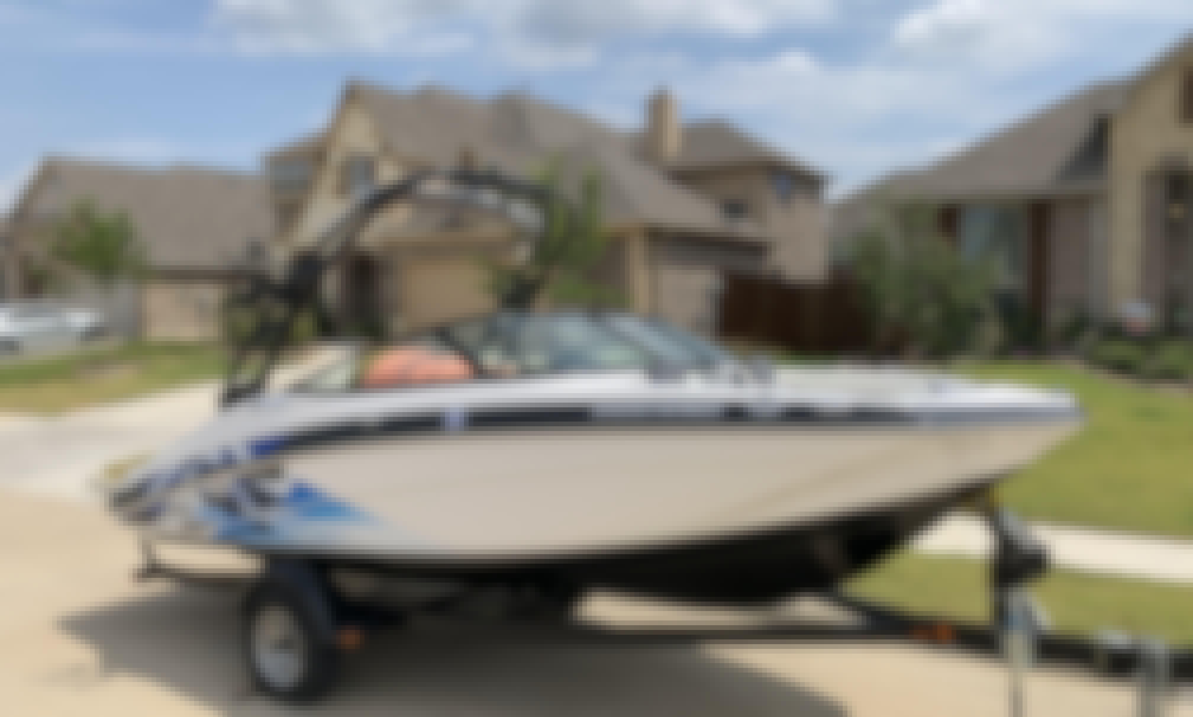 2017 19' Yamaha Jet Boat On Joe Pool Lake With Cap'n Mike