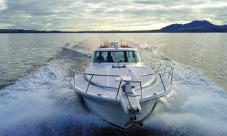 Charter a Riviera 4000 Offshore Sedan Motor Yacht in Taupo, New Zealand