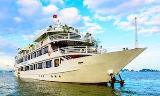 Halong Silversea Cruise - 2 Days 1 Night Sleep on Boat in Vietnam!