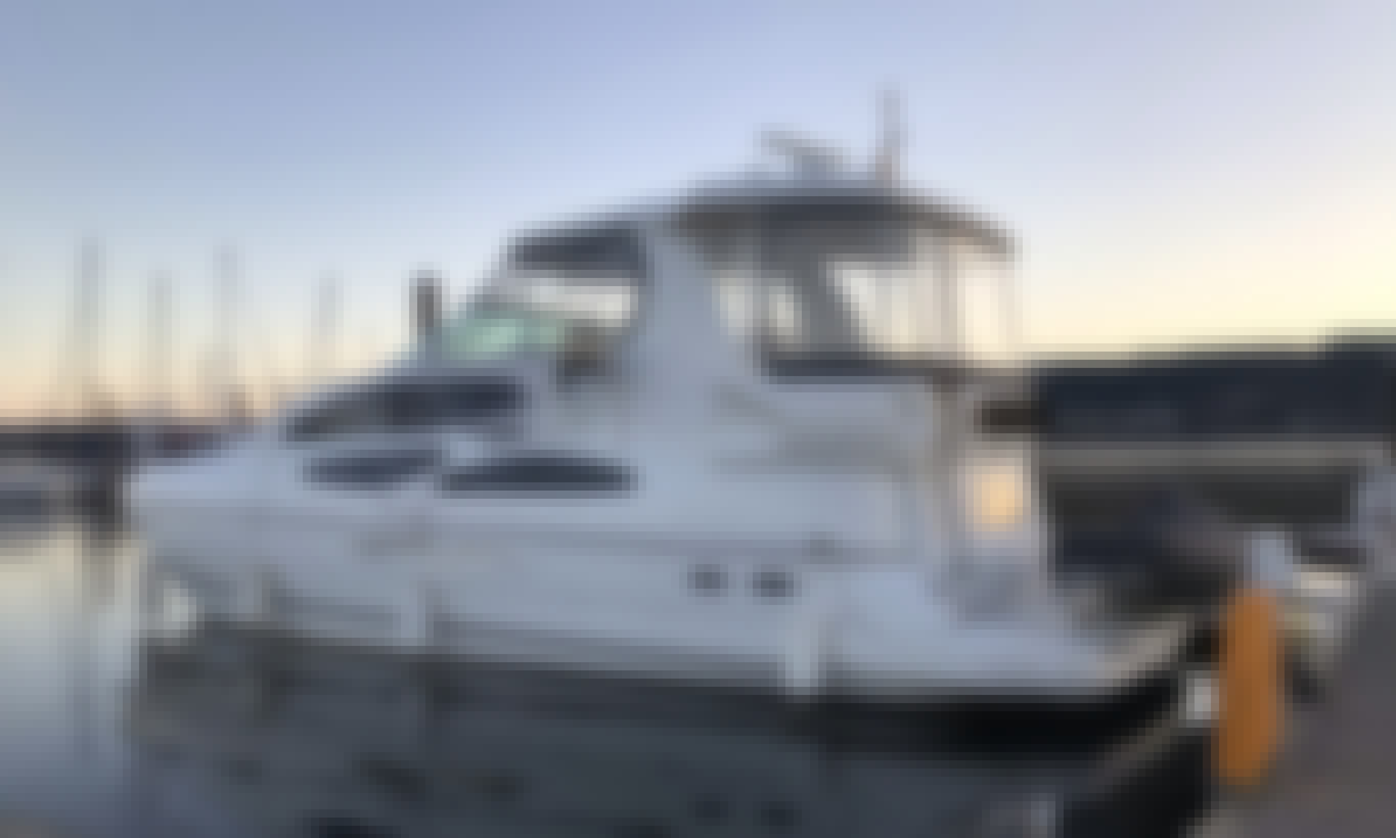 Charter 45' Power AFT Cabin Cruiser for 14 Person in Seattle, Washington!