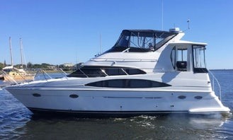 Stunning 42' Carver 396 Yacht with Captain, Lake Norman