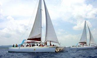 Private Catamaran Sail with Snorkeling in Negril, Jamaica