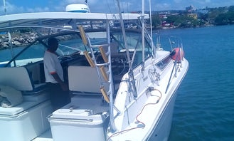 Private Fishing Charter for Deep Sea Fishing Adventure for 4 People in Montego Bay!