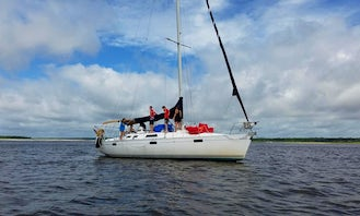 Ocean Inlet Captained Charter onboard Beneteau 39 Sailboat in Little River, South Carolina