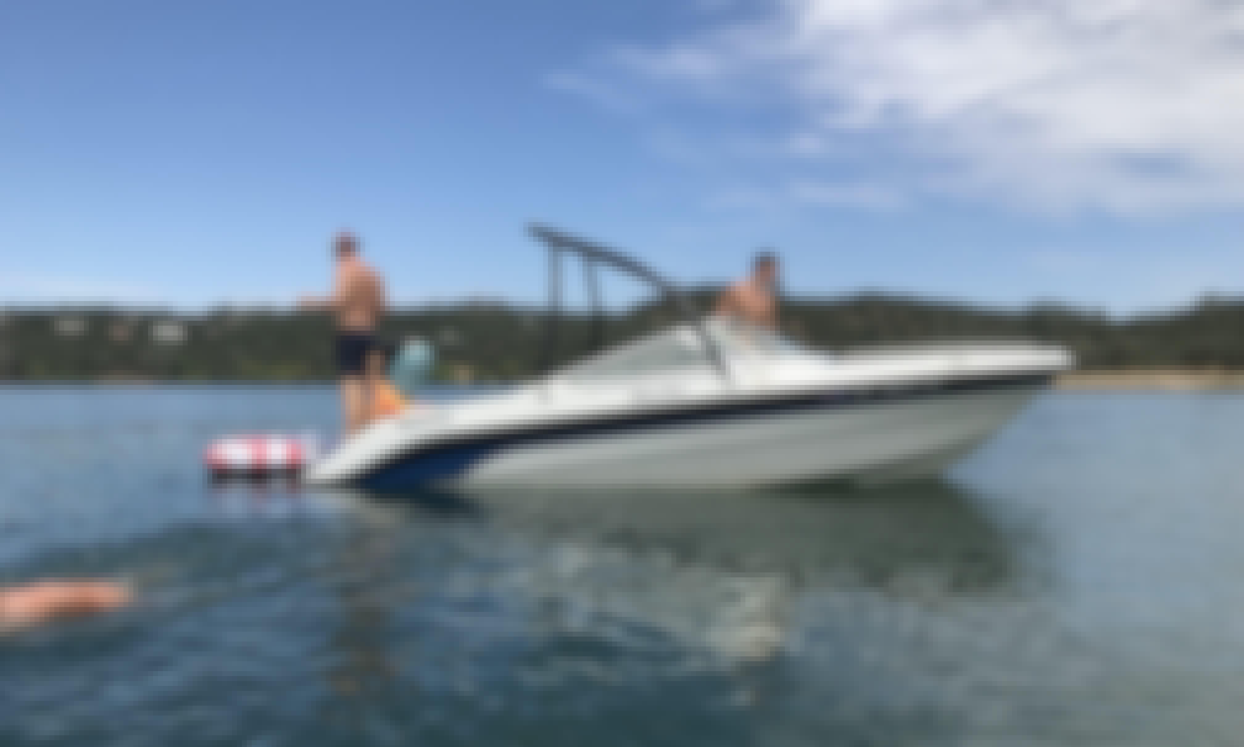 Marlin Bowrider Boat Rental in Fair Oaks for 8 Person!