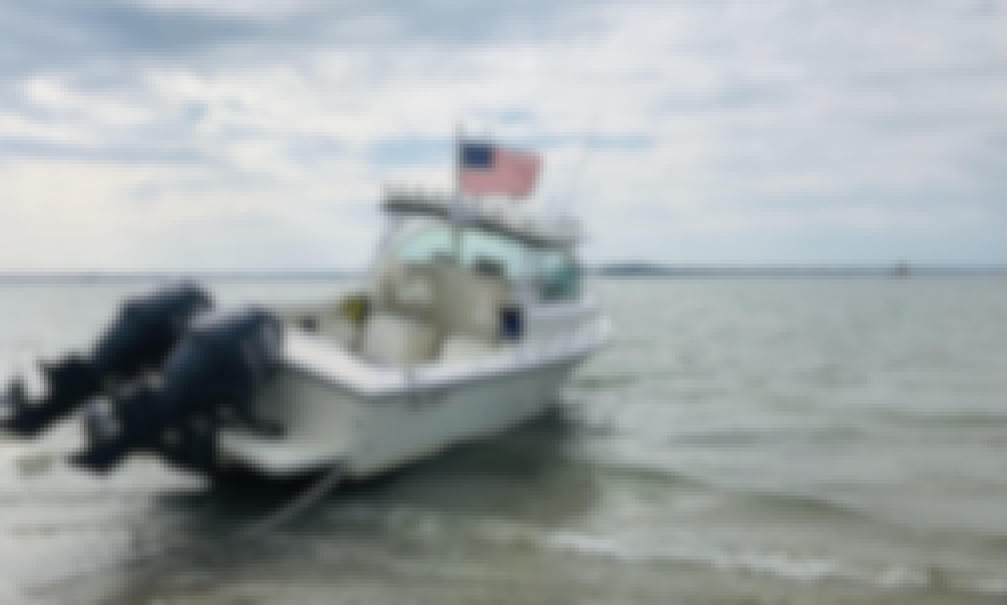 Rent 25' Parker Powerboat in Duxbury, Massachusetts!
