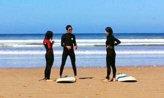 Surf School for Beginners and Intermediate Level in Tamraght, Souss Massa!