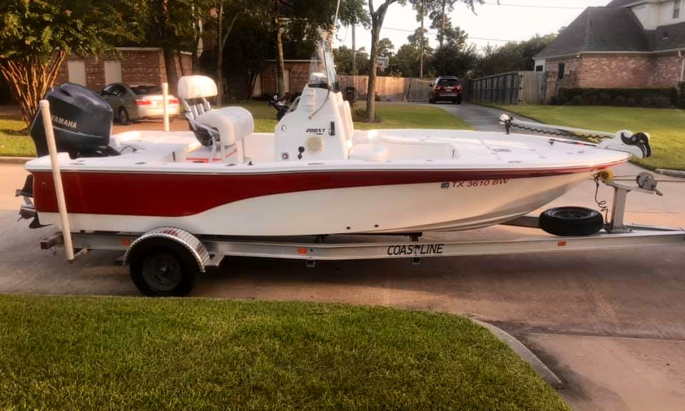 20ft Seafox Boat Center Console Rental In Conroe Or