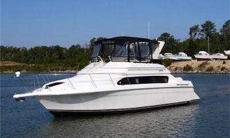 42' Sedan Bridge Carver Santego Motor Yacht Charter in Edgewater, NJ