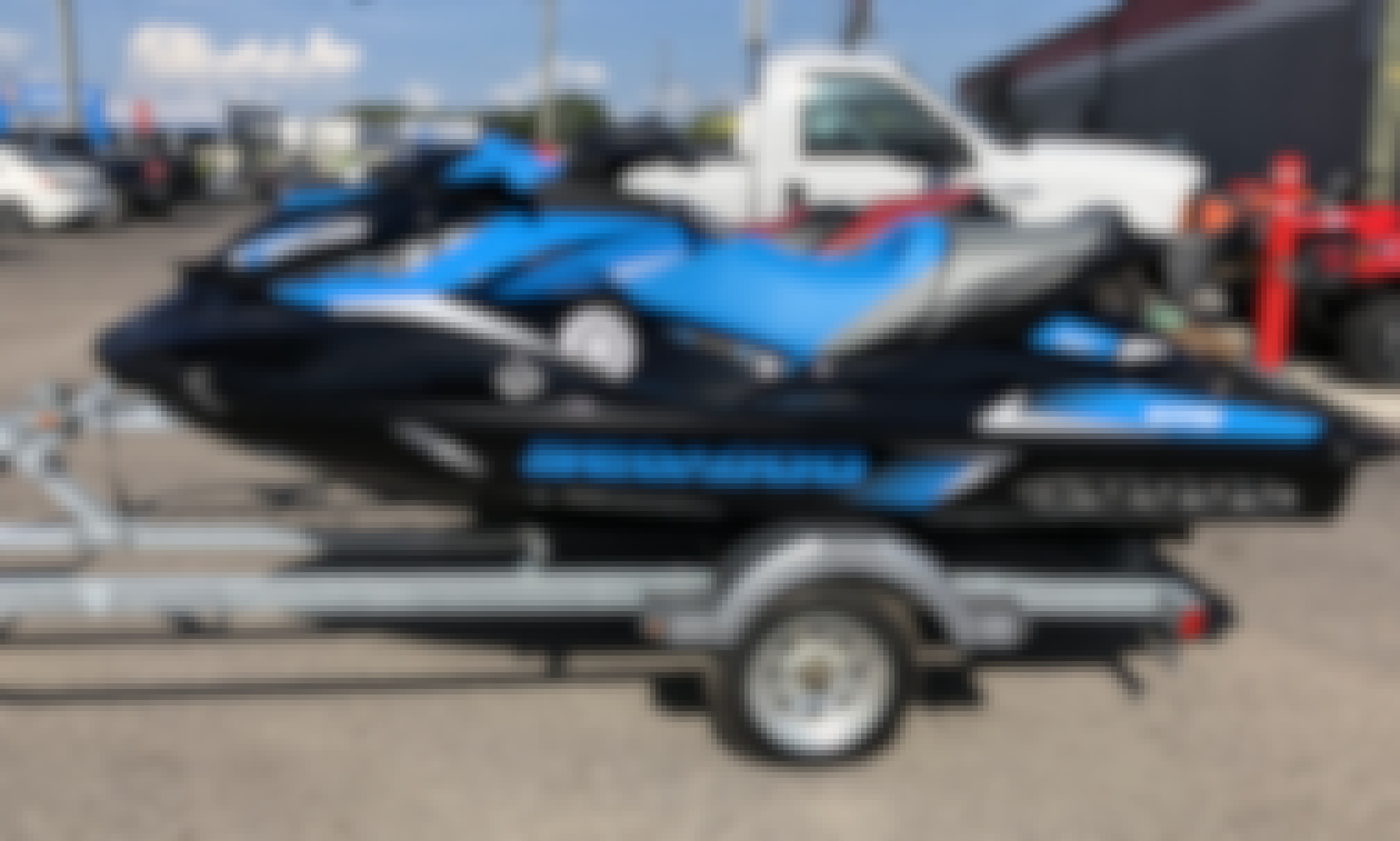 Rent this Sea Doo 230 Jet Ski for 3 People in Tampa, Clearwater, and Melbourne, Florida