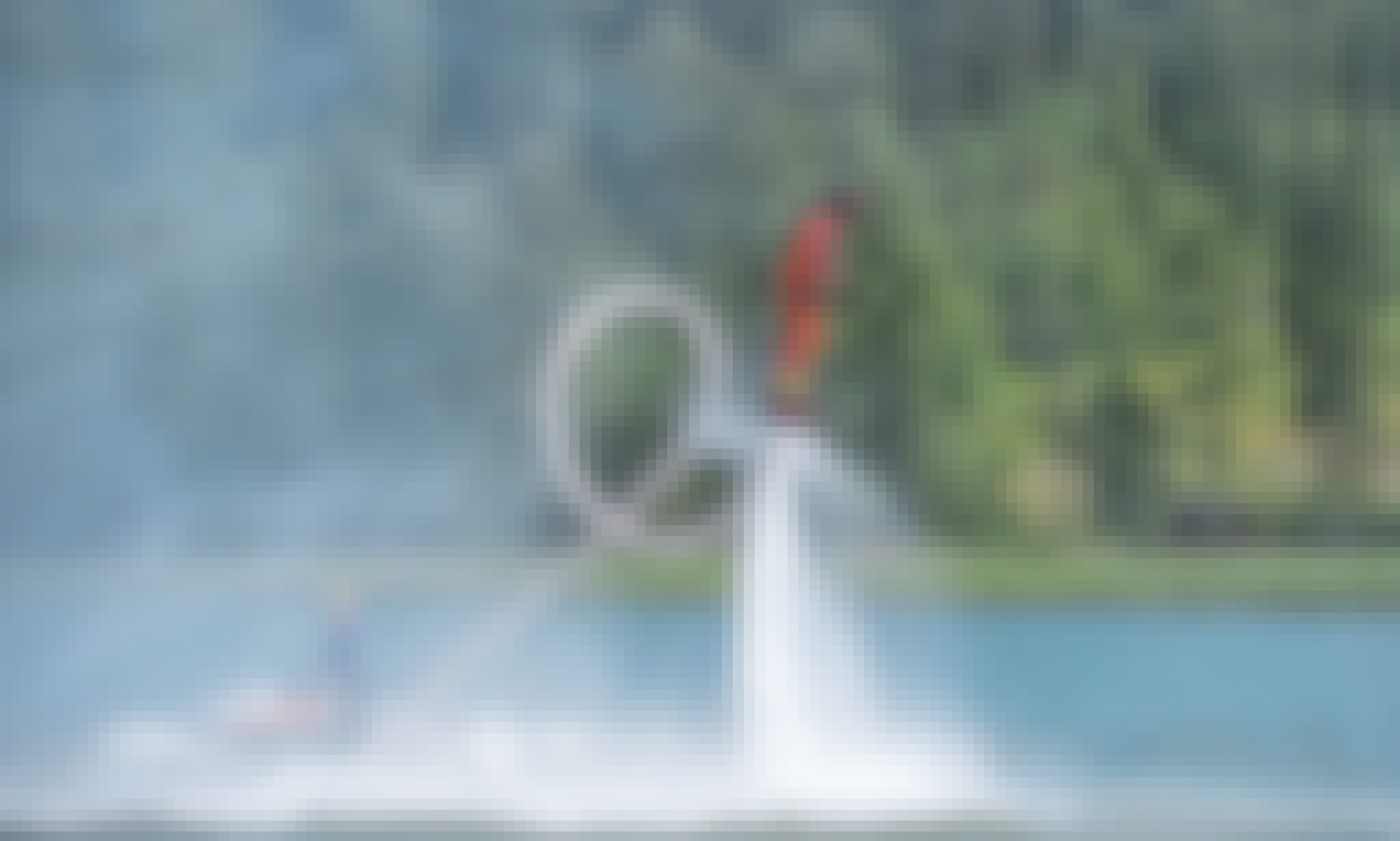 Flyboarding Experience in Hollola, Finland