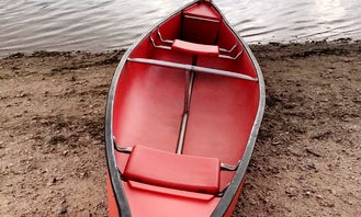 Rent Fishing Canoe with Trolling Motor in Colorado Springs