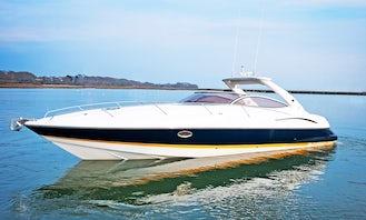 ''Shaken Not Stirred'' Sunseeker Superhawk Motor Yacht Rental in London, England
