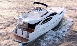 Book the Azimut 46 Flybridge Motor Yacht in London, England