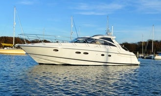 Princess v48 Power Mega Yacht Rental in London, England for 10 person!
