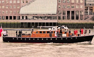 Book the 85' Classic Gentlemans Motor Yacht in London, England