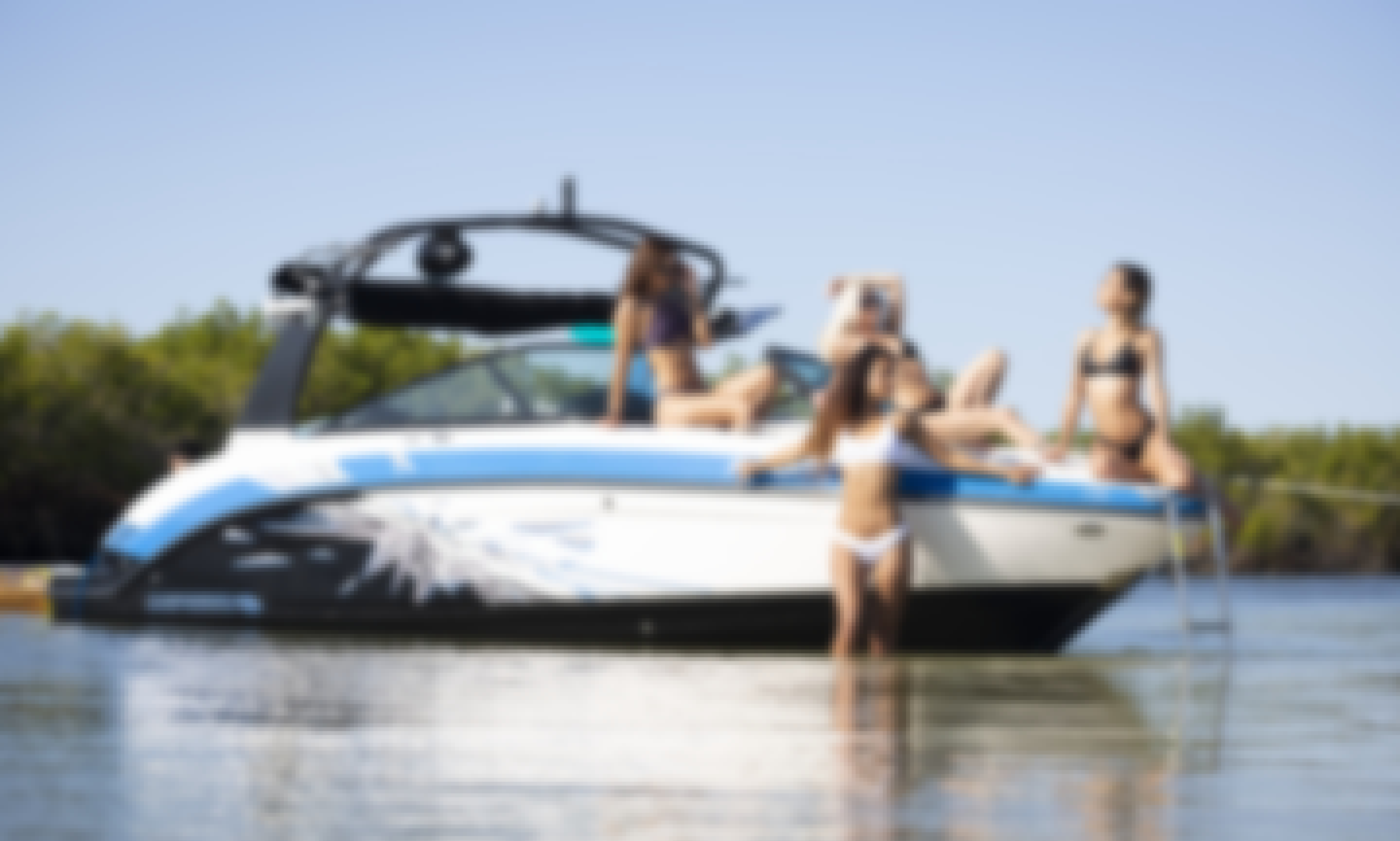 24' Chaparral Vortex Jet Boat for Rent in Ponce Inlet, Florida