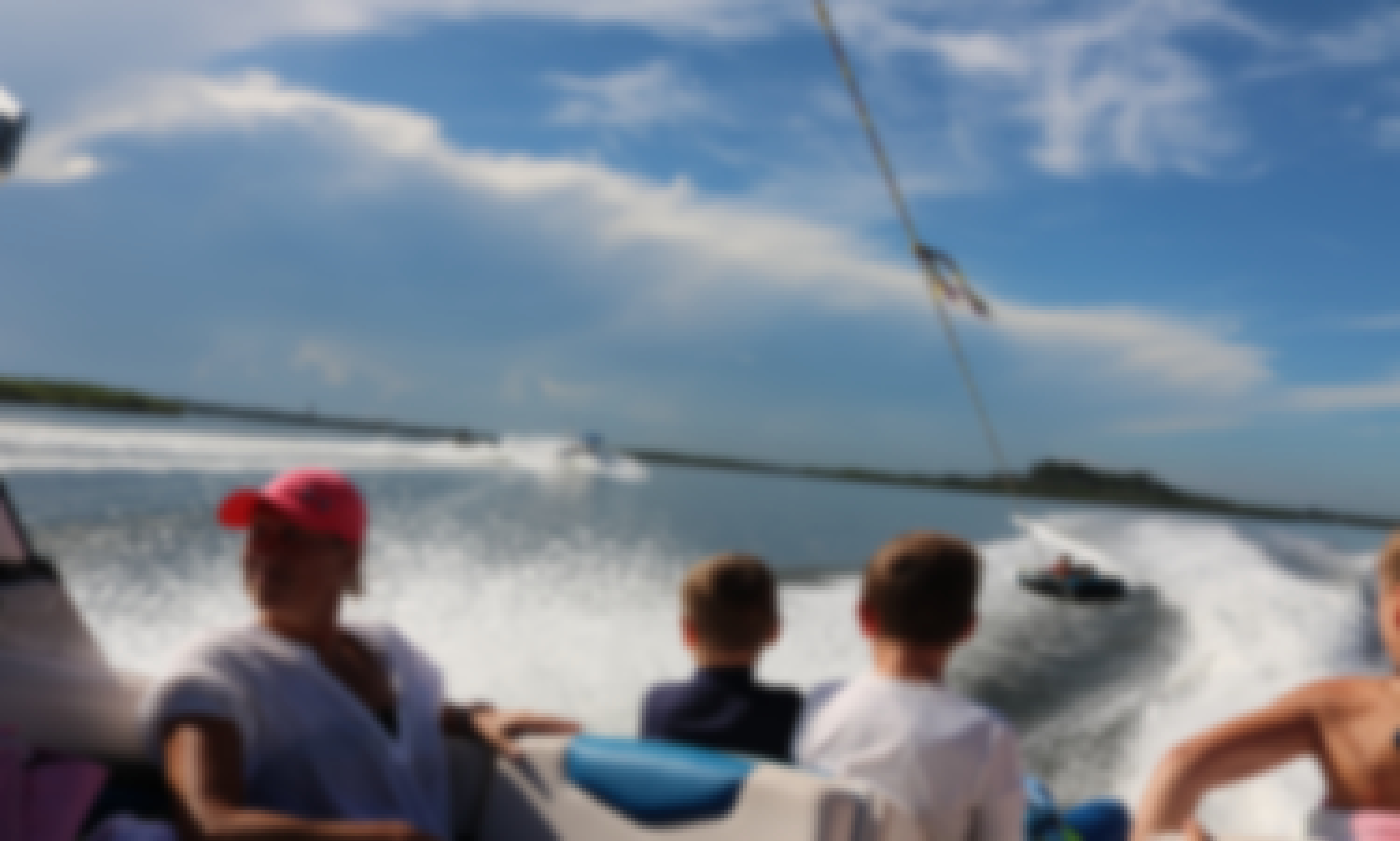 Reserve this 24' Chaparral Vortex Jet Boat with 4 Stroke 204 Hp Engine in Daytona Beach, Florida ( Captain Included)