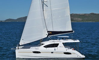 One Week of Sailing on a Cruising Catamaran with up to 8 persons